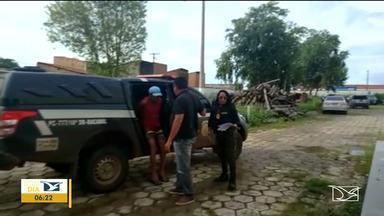 Polícia prende homem suspeito de matar adolescente de 15 anos no Maranhão - Já está preso o homem suspeito de matar a facadas uma jovem de apenas 15 anos em São Luiz Gonzaga.