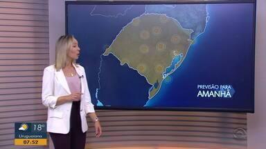 Deve fazer calor neste fim de semana; confira a previsão do tempo para este sábado (29) - Assista ao vídeo.