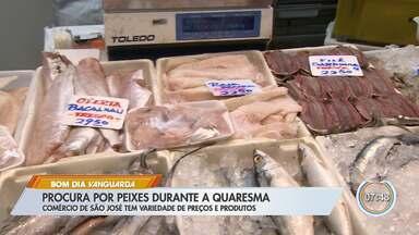 Quaresma aumenta procura por peixe - No período que acontece após o carnaval, católicos não comem carne vermelha.