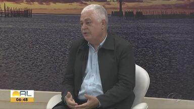 Presidente do Conselho Regional de Medicina em Alagoas fala sobre o Coronavírus - Primeiro caso do confirmado do Coronavírus no Brasil foi confirmado na última quarta-feira.