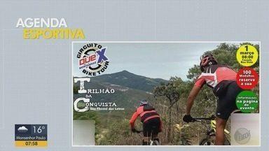 Confira atrações na agenda esportiva do Sul de MG - Eventos acontecem no fim de semana
