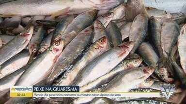 Venda de pescados pode aumentar em período de Quaresma - Período de defeso de algumas espécies marinhas acabam nesta semana.