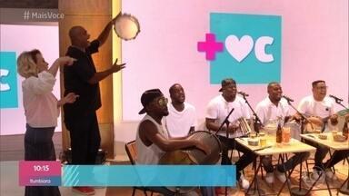 Casa de Cristal vira roda de samba com 'É Hoje' - Ana Maria se emociona com homenagem do percussionista Banana