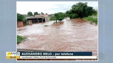 Defesa Civil fala sobre fortes chuvas em Paranaíba - Defesa Civil fala sobre fortes chuvas em Paranaíba.