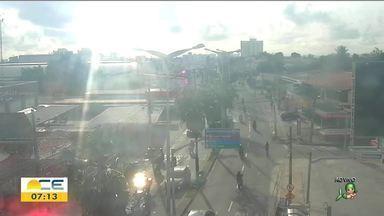 Veja a previsão do tempo para o fim de semana no CE - Saiba mais em g1.com.br/ce