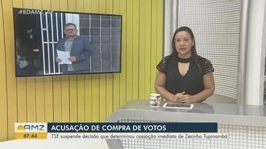 TSE suspende saída imediata e Zezinho Tupinambá segue no cargo de deputado após cassação - Após perda da função na Assembleia Legislativa, TRE havia determinado a vacância imediata da cadeira na Casa de Leis.