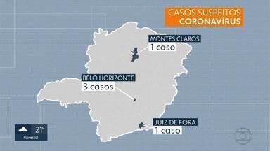 Cinco casos suspeitos de coronavírus são investigados em Minas Gerais - Pacientes monitorados estiveram em países onde há o surto da doença.