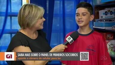 #CompartilheRS: escola pública do RS participa de concurso nacional de robótica - Assista ao vídeo.