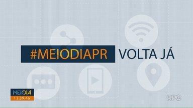 Telespectadores chamam o intervalo do Meio Dia Paraná - Faça o seu vídeo e envie para 9 9972-5178.
