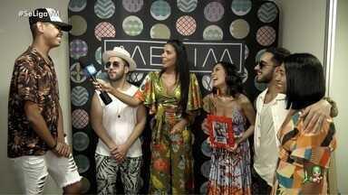 Fã cearense encontra a banda Melim - Gabriel Ventura foi escolhido em campanha nas redes sociais e Niara Meireles promoveu o encontro