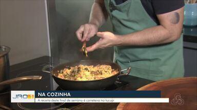 Na Cozinha: Receita de hoje é arroz carreteiro com tucupi - Na Cozinha: Receita de hoje é arroz carreteiro com tucupi