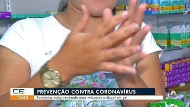 Com coronavírus, dispara venda de álcool em gel - Saiba mais no g1.com.br/ce