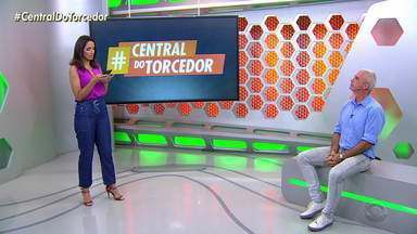Telespectadores participam da #CentralDoTorcedor deste sábado (29) - Assista ao vídeo.