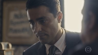 Almeida conta para Gusmões que Natália não deu notícias - Ele desabafa e diz que recebeu um único telefonema em que ela dizia que estava voltando pra São Paulo