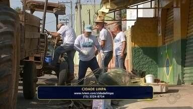 Mutirão de limpeza percorre bairros de cidades da Região de Itapetininga - Mutirão de limpeza percorre bairros de cidades da Região de Itapetininga (SP).
