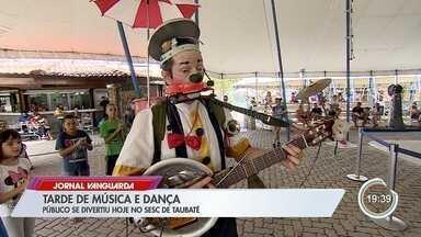 Sesc de Taubaté teve programação pós-carnaval neste sábado - Veja na reportagem.
