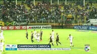 Resende estreia na Taça Rio contra o Vasco, no estádio Raulino de Oliveira - Equipes se enfrentaram em Volta Redonda, pela primeira rodada do segundo turno do Carioca.