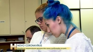 Pesquisadores brasileiros sequenciam genoma dos casos de coronavírus confirmados no país - Sequenciar o genoma da doença é importante porque mostra os pontos do vírus e fica mais fácil encontrar uma vacina que ataque os pontos fracos.