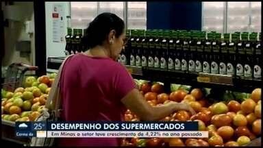 Setor supermercadista registra crescimento no Centro-Oeste de Minas e Alto Paranaíba - Em Minas Gerais, a alta foi de mais de 4% em 2019 na comparação com o ano anterior. Índice foi acima do esperado pela Associação Mineira de Supermercados.
