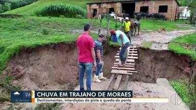 Prefeitura de Trajano de Moraes volta atrás na decisão de declarar estado de calamidade - Na manhã desta quarta-feira a Prefeitura afirmou que há danos na cidade, mas não cabe um decreto de calamidade.
