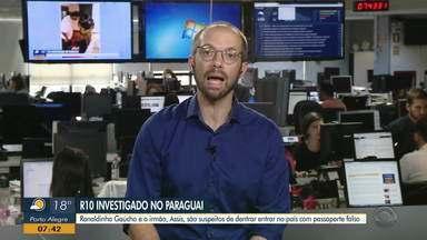 Daniel Scola comenta sobre Ronaldinho Gaúcho - Assista ao vídeo.
