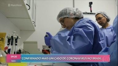 Terceiro caso de coronavírus é confirmado no Brasil - Outro caso suspeito ainda aguarda confirmação do exame na contra-prova. Autoridades acreditam que novos casos ainda devem surgir no país