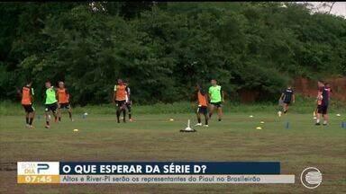 Altos e River-PI serão os representantes do Piauí na série D do Brasileirão 2020 - Altos e River-PI serão os representantes do Piauí na série D do Brasileirão 2020