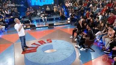 Serginho comemora os 20 anos do Altas Horas - Serginho relembra grandes momentos do programa