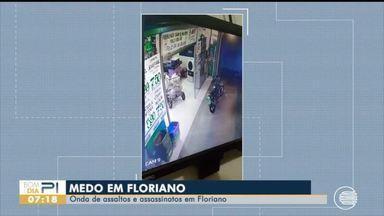 Onda de assaltos assusta moradores de Floriano - Onda de assaltos assusta moradores de Floriano