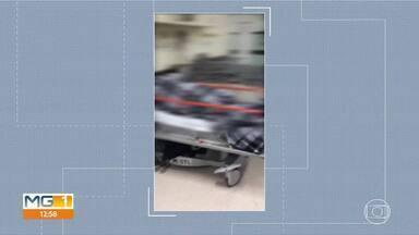 Vídeos de dentro do Hospital João XXIII mostram atendimento precário em unidade - Fhemig alega que servidores, em greve, têm se negado a prestar o serviço.