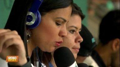 Conheça a rádio feminina que transmitiu o jogo do Palmeiras contra Ferroviária - Conheça a rádio feminina que transmitiu o jogo do Palmeiras contra Ferroviária