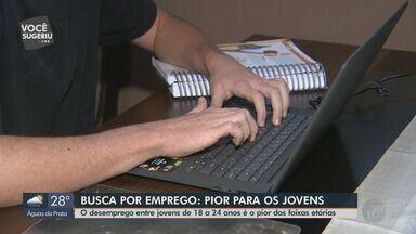 Taxa de desemprego entre jovens de 18 a 24 anos chega a 23,8% no 4º trimestre de 2019 - Nível de desemprego geral é de 11%, segundo o Instituto Brasileiro de Geografia e Estatística (IBGE).