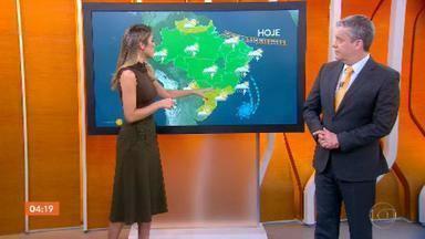 Meteorologia prevê chuva forte em Belém nesta quinta-feira - Veja como fica o tempo em todo o país.
