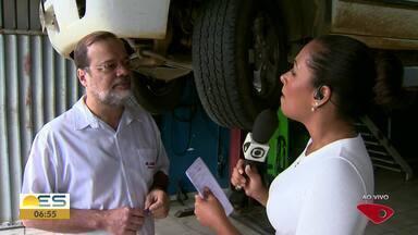 Saiba o que fazer para evitar que o freio do veículo falhe e provoque um acidente - Essa semana, um caminhão desgovernado invadiu uma loja em Cariacica, ES.