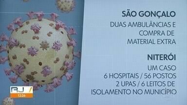 Municípios da Região Metropolitana anunciam medidas para lidar com o novo coronavírus - São Gonçalo e Niterói anunciam medidas para receber possíveis pacientes.
