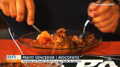 Confira o vencedor do concurso 'Panela de Bairro' e a receita mais votada do mês - O prato mais votada foi o 'Mocofato', veja como preparar.