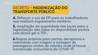 Coronavírus: Estado e município definem estratégias de limpeza no transporte público - A Bahia tem 9 casos confirmados da doença, até o momento.