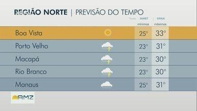 Confira a previsão do tempo para esta segunda-feira (16) - Confira a previsão do tempo para esta segunda-feira (16).