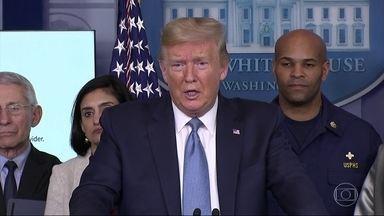 Donald Trump anuncia medidas para reduzir a propagação da Covid-19 - Guga Chacra analisa as medidas anunciadas por Donald Trump.