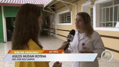 Asilos de São José mudam rotina por causa do coronavírus - Idosos estão no grupo de risco da doença.