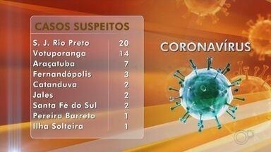 Região noroeste paulista tem 52 casos suspeitos de coronavírus - A região noroeste paulista tem 52 casos suspeitos de coronavírus, segundo informações das autoridades de saúde, até esta terça-feira (17). As cidades com mais casos são Rio Preto e Votuporanga.