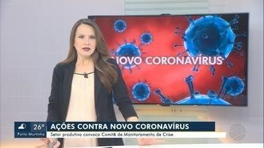 Setores público e privado adotam medidas para combater avanço do Coronavírus - Setores público e privado adotam medidas para combater avanço do Coronavírus