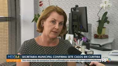Secretaria de Saúde de Curitiba confirma sete casos de coronavírus - Os dois novos casos foram confirmados no último boletim.