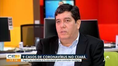 Rede hospitalar se prepara para atender o aumento de casas do coronavírus - Saiba mais em g1.com.br/ce