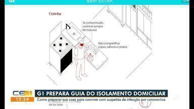 G1 prepara guia do isolamento domiciliar para suspeitos de contrair o coronavírus - Saiba mais em g1.com.br/ce
