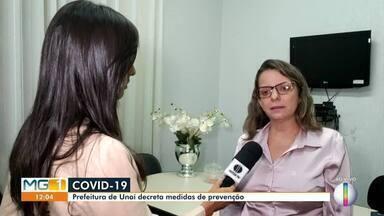 Prefeitura de Unaí decreta medidas de prevenção ao Covid-19 - Secretária de Saúde alerta à população para ficar atenta às fake news.