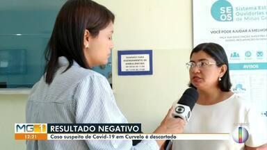 Caso suspeito de Covid-19 em Curvelo é descartado - Secretária de Saúde fala que este era o único caso suspeito notificado no município.