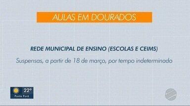 Rede municipal de ensino de Dourados paralisa aulas a partir desta quarta - Rede municipal de ensino de Dourados paralisa aulas a partir desta quarta