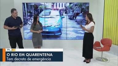 Veja a íntegra do RJ1 dsta terça-feira, 17/03/2020 - Apresentado por Ana Paula Mendes, o telejornal da hora do almoço traz as principais notícias das regiões Serrana, dos Lagos, Norte e Noroeste Fluminense.