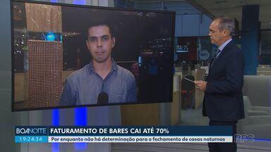 Faturamento de bares e casas noturnas cai até 70% em Curitiba - Por enquanto, ainda não há uma determinação para o fechamento desse tipo de estabelecimento na capital.